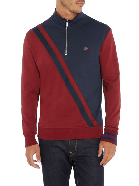 Perry Ellis America Cotton Long-Sleeve Rugby Shirt