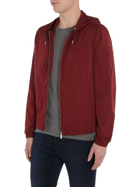 Perry Ellis America Hooded Zip-Through Jacket