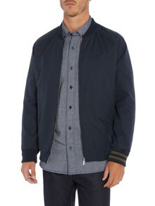 Perry Ellis America Cotton-Blend Zip-Through Bomber