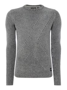 Only & Sons Chunky-Knit Crew-neck Jumper