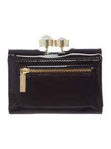 Ted Baker Elmeer small patent flapover purse