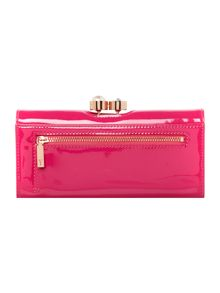 Ted Baker Elinorr large patent flapover purse