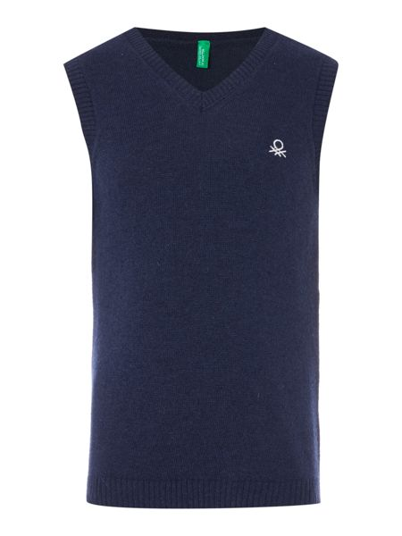 Benetton Boys V-Neck Tank