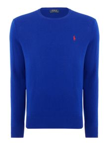 Polo Ralph Lauren Crew Neck Luxury Merino Jumper