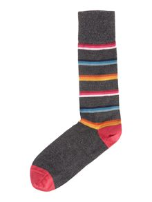 Paul Smith London Mono Grade Socks Stripe Socks