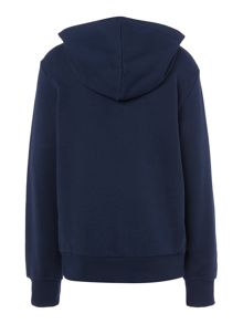 Benetton Boys Logo Hooded Sweater