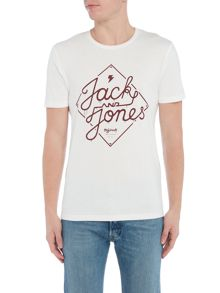 Jack & Jones Diamond-Logo Short-Sleeve T-shirt