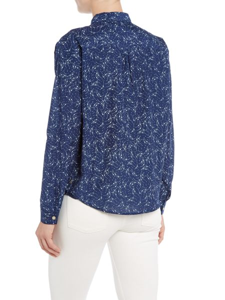 Maison Scotch Relaxed fit print shirt top
