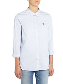Maison Scotch long sleeve preppy shirt top