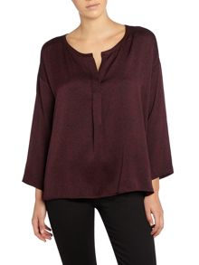 Repeat Cashmere Printed Blouse