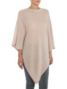 Repeat Cashmere High neck poncho