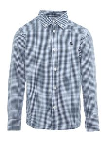 Benetton Boys Gingham Check Shirt