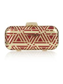 Biba Long box clutch bag
