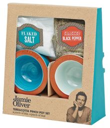 Jamie Oliver Salt & Pepper Pinch Pots