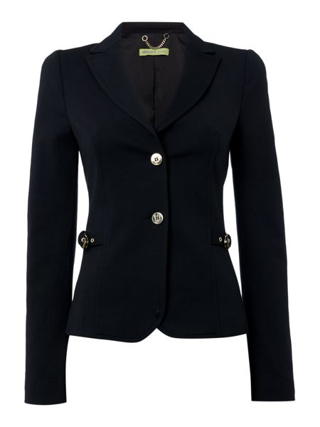 Versace Jeans Side Buckle Blazer