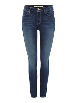 Exclusive high rise skinny body jeans