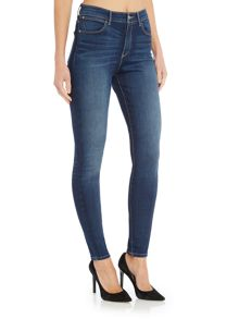 Wrangler Exclusive high rise skinny body jeans