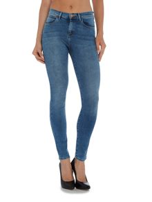 Wrangler Body Bespoke high rise jean in best blue