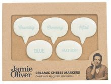 Jamie Oliver Cheese markers set of 5