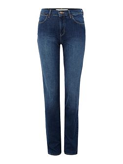 Body Bespoke high rise jean in authentic blue