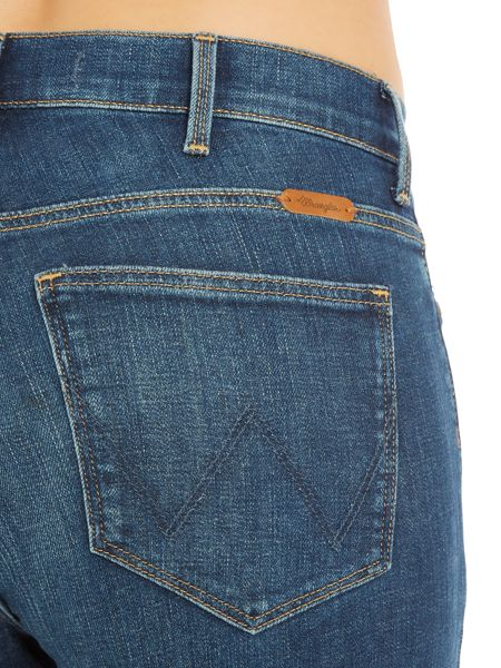 Wrangler Body Bespoke high rise jean in authentic blue
