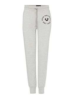 Crafted with pride cuffed jogging bottoms