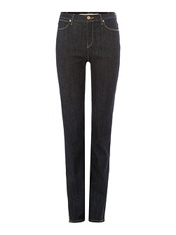 Body Bespoke high rise slim jean in true