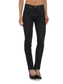 Wrangler Body Bespoke high rise slim jean in true night