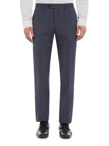 Corsivo Larello Italian Wool Prince of Wales Suit Trouser