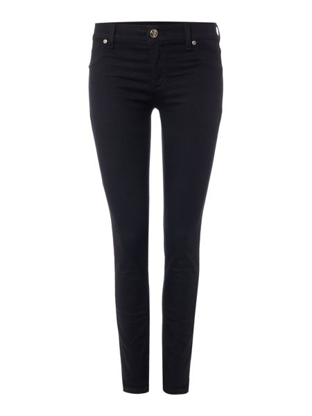 Versace Jeans Skinny jean with chain detail