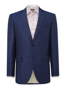Corsivo Bosco Italian fabric Linen Suit Jacket