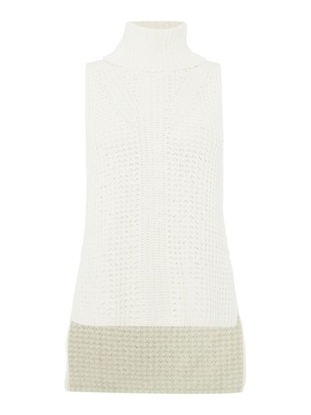 Bardot Sleeveless Funnel Vest Top