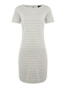 Vila Short Sleeved Shift Dress