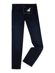 True Religion Rocco super stretch no flap dark wash jeans