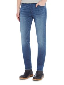 True Religion Rocco super stretch no flap light wash jeans