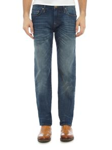 True Religion Geno slim fit mid wash jeans