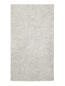 Repeat Cashmere Metallic dot scarf