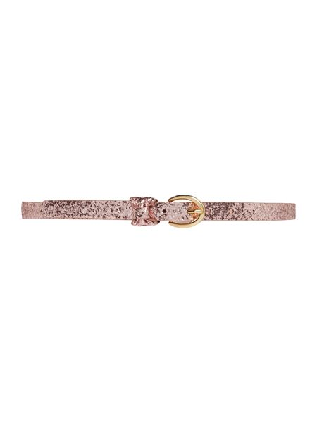 Therapy Therapy glitter bow jeans belt
