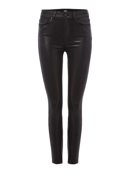 Paige Hoxton ankle cut coated jean