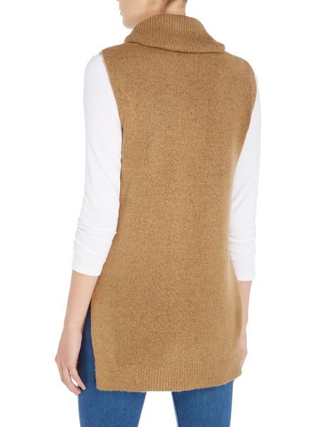 Vero Moda Sleeveless Roll Neck Knit