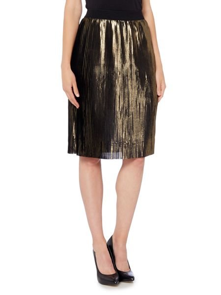 Vero Moda Pleated Midi Skrit