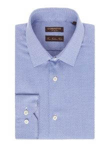 Corsivo Barri Italian fabric Textured Shirt