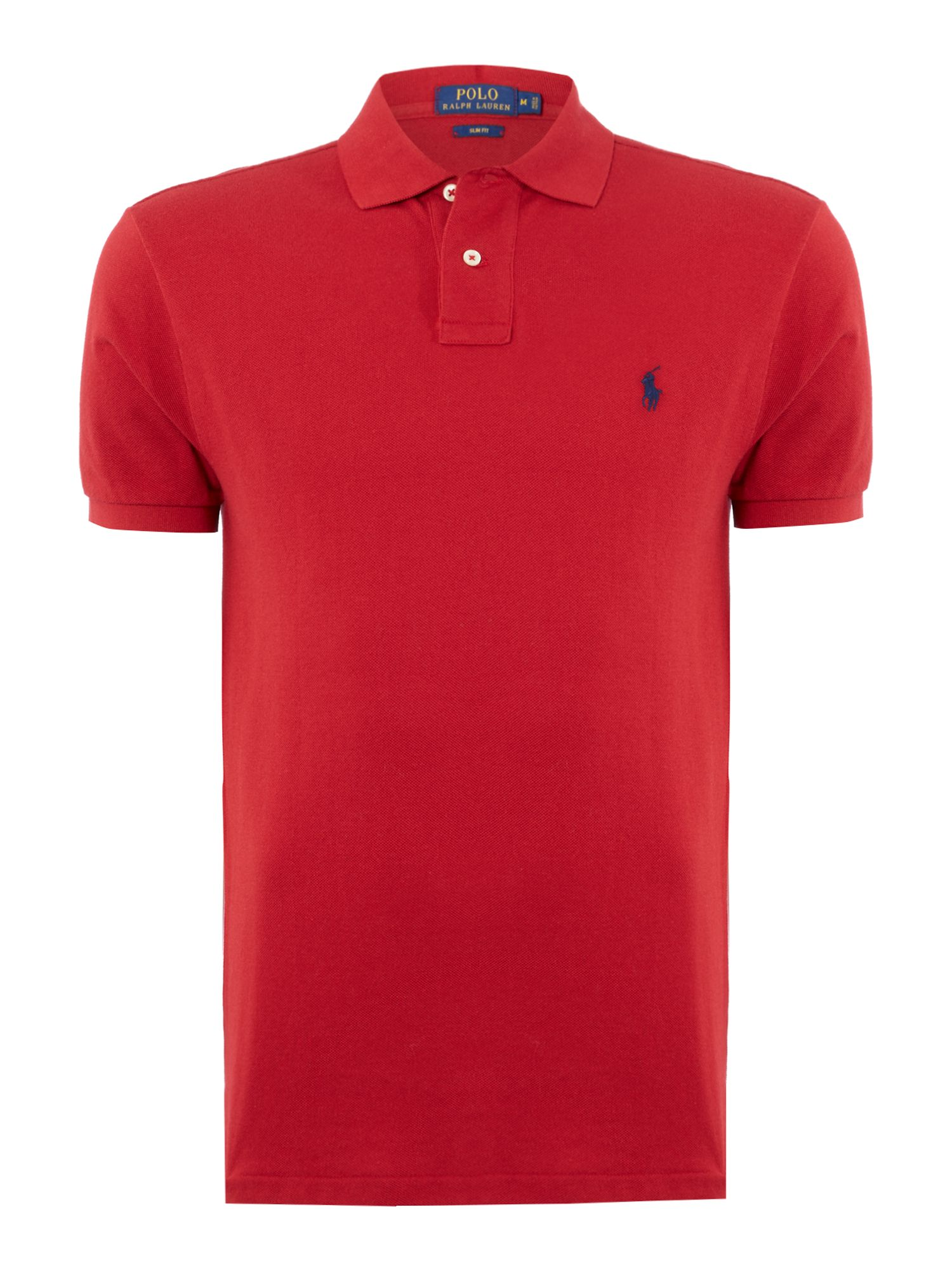 Polo Ralph Lauren Slim Fit Basic Mesh Polo ...