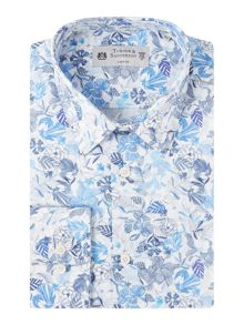 Turner & Sanderson Harlington Sketch Floral Shirt
