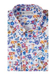 Turner & Sanderson Meadow Pressed Floral Shirt