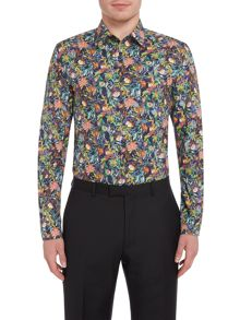 Turner & Sanderson Wordsworth Dark Meadow Floral Shirt
