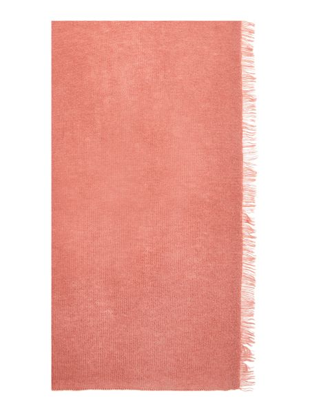 Repeat Cashmere Fringed Scarf