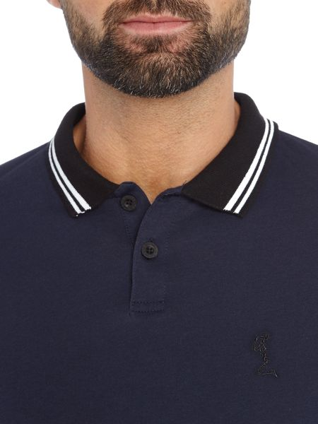 Religion Double Tip Collar Longsleeve Polo