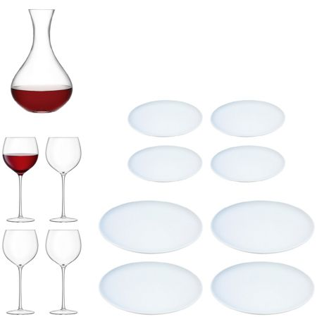 LSA Wine Glass and Dining Set