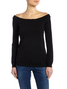 Episode Long sleeve off the shoulder top